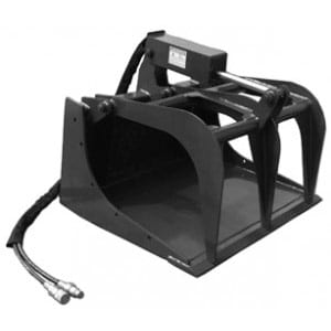 Grapple Bucket Skid Steer Attachments