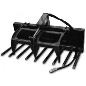 Manure Fork Grapple Skid Steer Attachments
