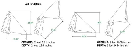 Standard Duty 4-N-1 Bucket Skid Steer Attachments