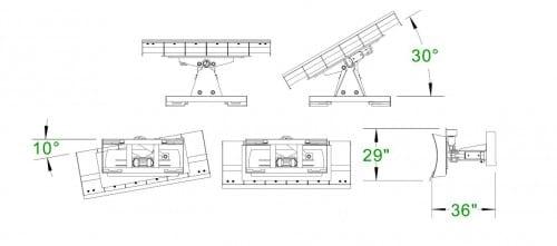 Extreme 6-Way Dozer Blade - Unlimited Fabrications