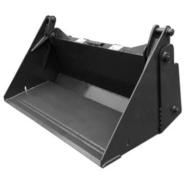 Compact Tractor 4-N-1 Bucket Skid Steer Attachments