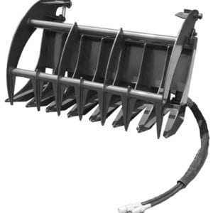 "Grapple Rake, 44"" Skid Steer Attachments"