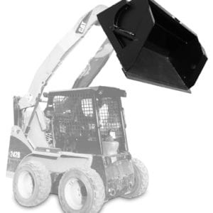 Extreme High Dump Bucket Skid Steer Attachments