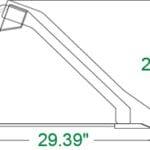 Heavy Duty Low Profile Bucket Skid Steer Attachments