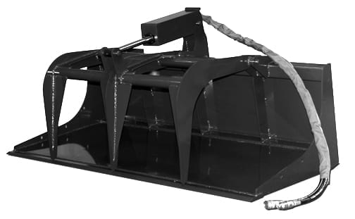 Compact Tractor Grapple Bucket Skid Steer Attachments
