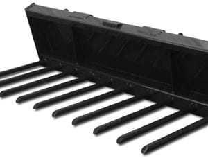 Compact Tractor Manure Fork Skid Steer Attachments