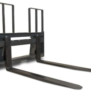 Walk Through Pallet Forks With Frame Skid Steer Attachments