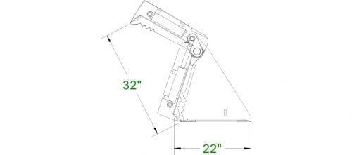 Heavy Duty 4-N-1 Bucket Skid Steer Attachments
