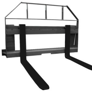 Compact Tractor Pallet Forks & Frame Skid Steer Attachments