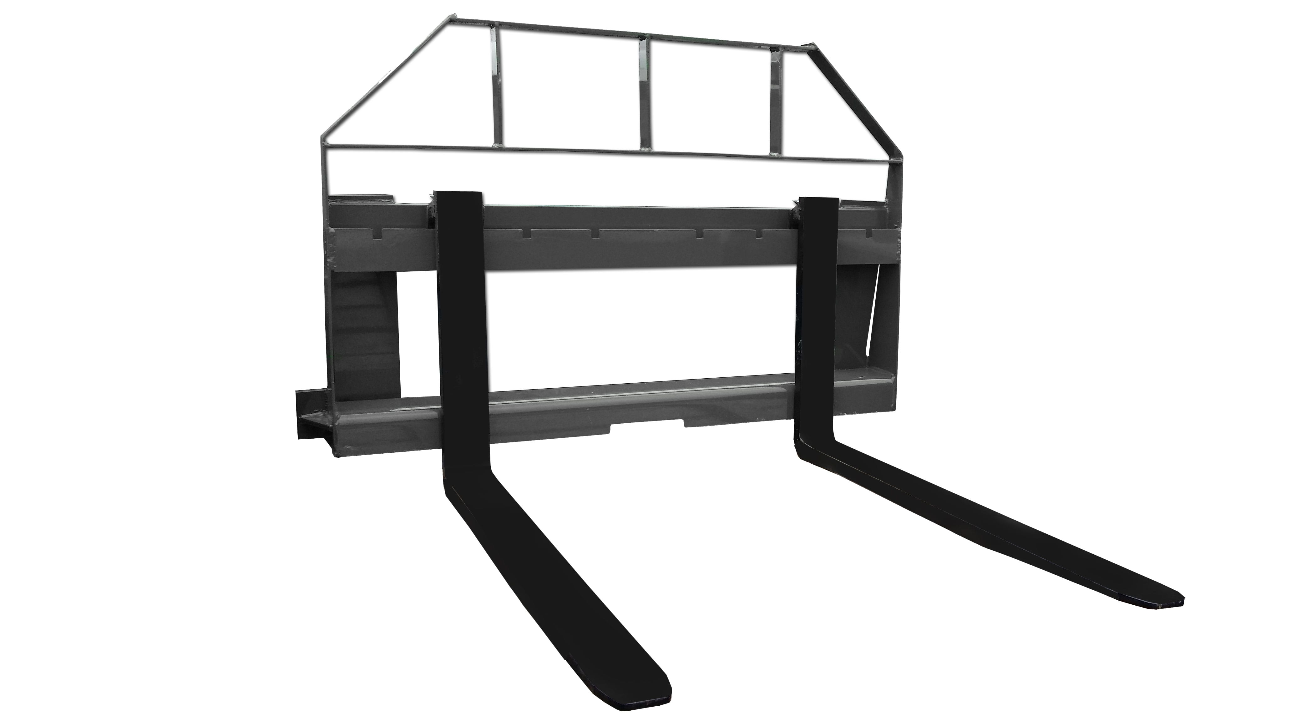 Compact Tractor Pallet Forks & Frame - Unlimited Fabrications