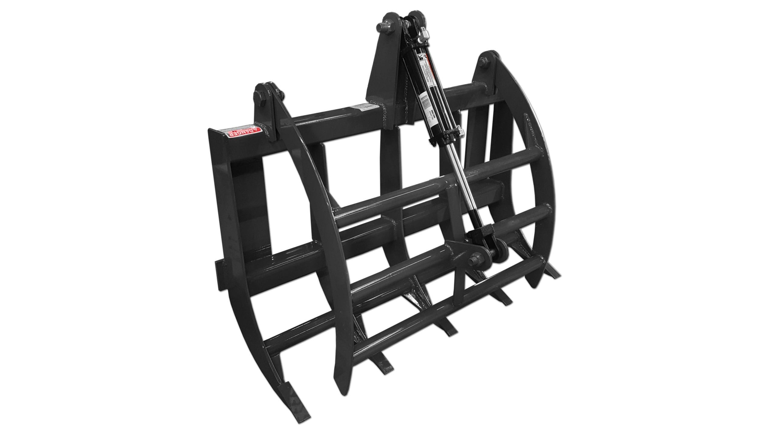 Compact Tractor Grapple Rake Skid Steer Attachments