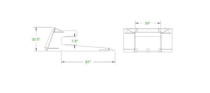 Concrete Claw Skid Steer Attachments