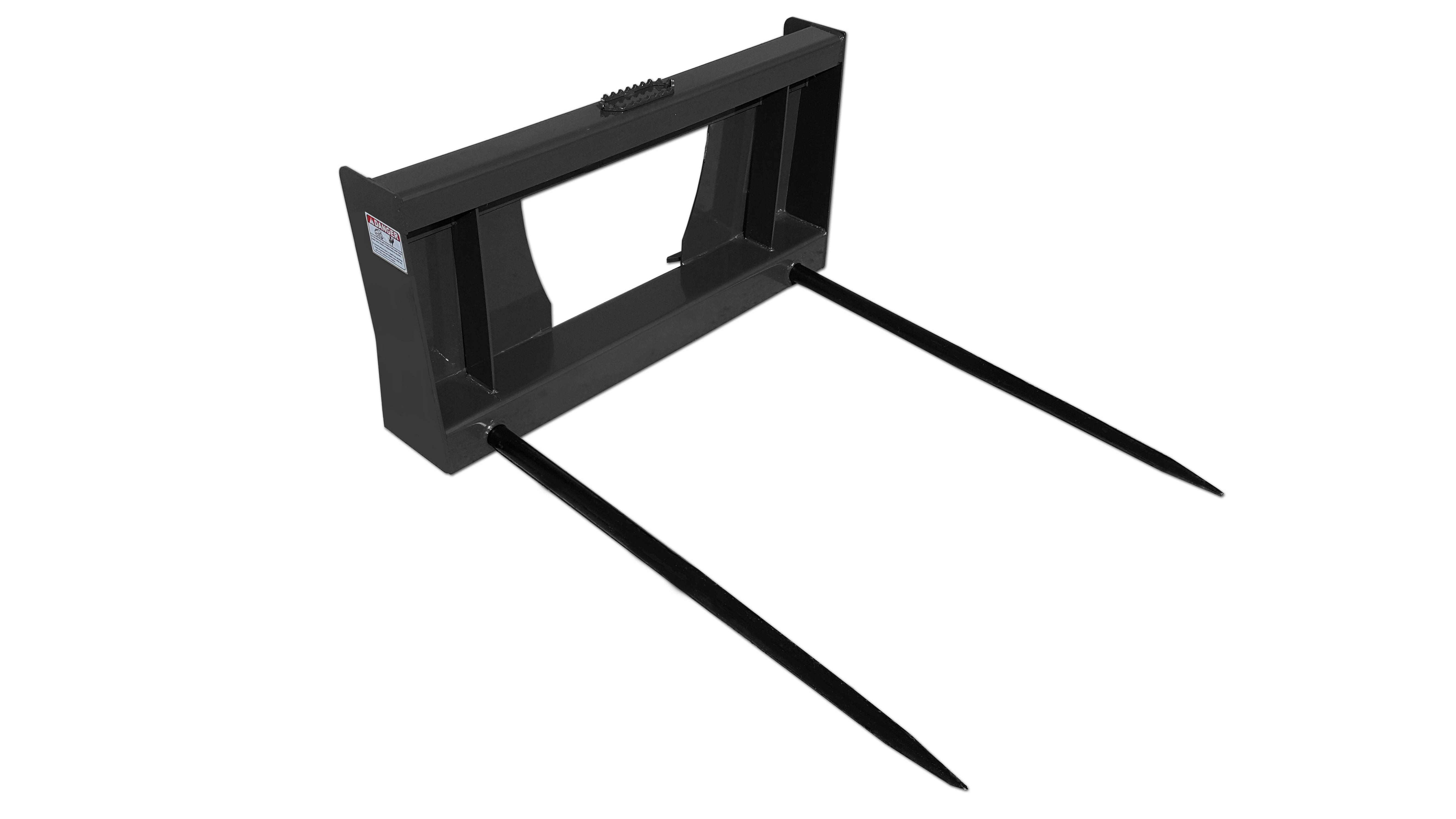Hay Spear Skid Steer Attachments