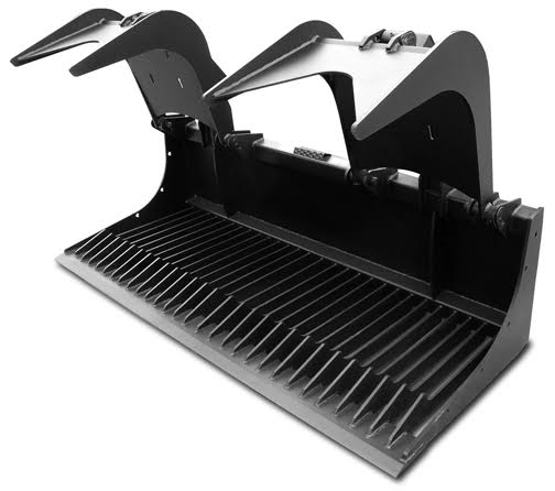 Extreme Rock Grapple Bucket Skid Steer Attachments