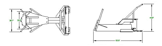 Extreme Tree Saw Skid Steer Attachments