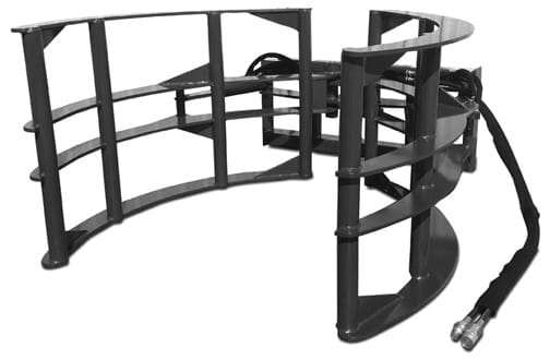 Extreme Hay Bale Squeezer Skid Steer Attachments