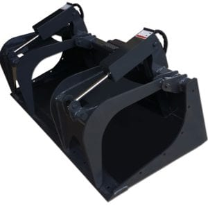 Heavy Duty Grapple Bucket Skid Steer Attachments