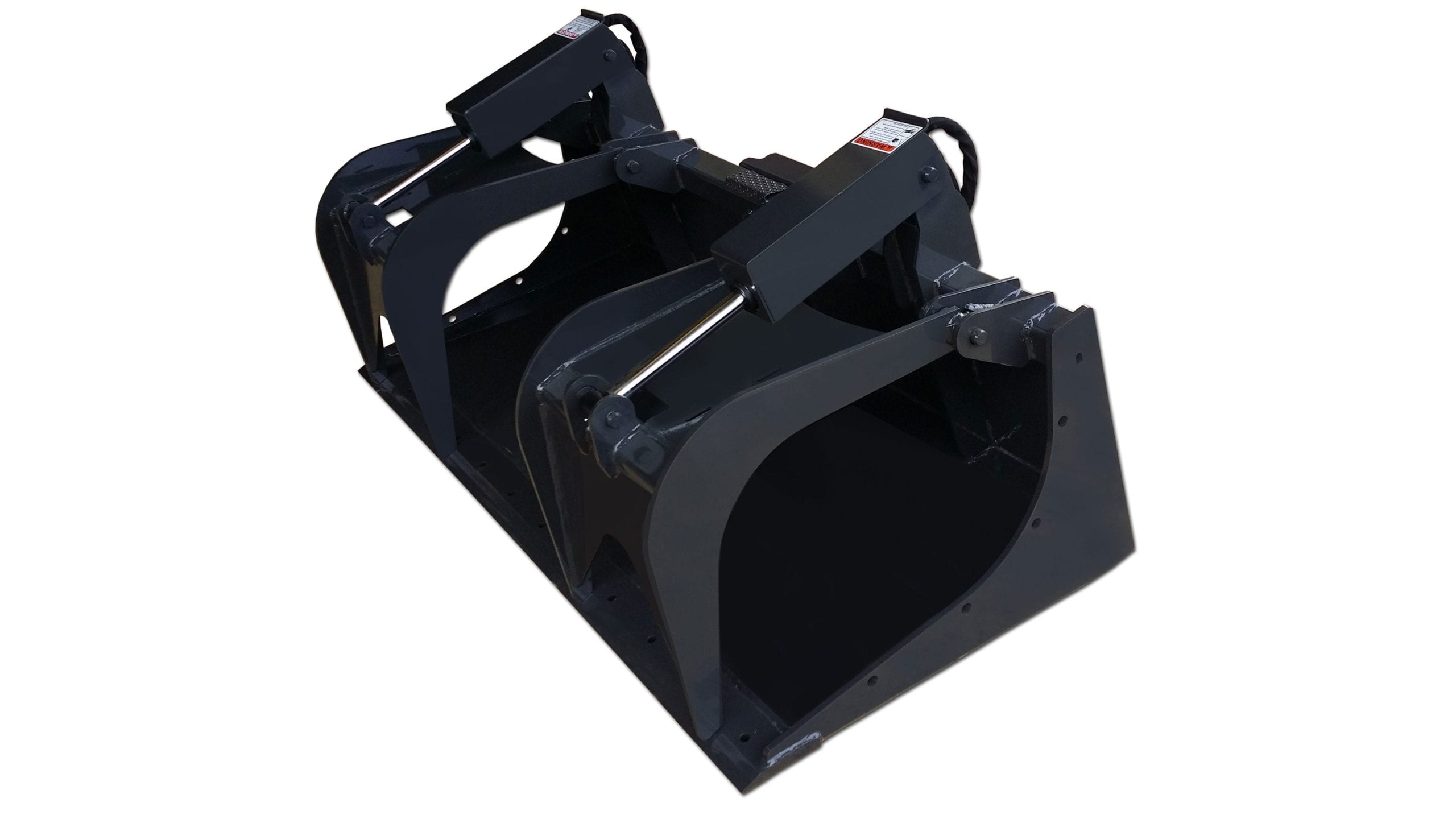 Standard Duty Grapple Bucket Skid Steer Attachments