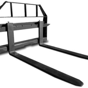 Standard Duty Pallet Forks with Frame Skid Steer Attachments