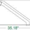 Heavy Duty Long Bottom Bucket Skid Steer Attachments