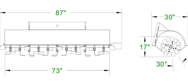 Extreme Rotary Tiller Skid Steer Attachments