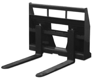 Pallet Forks Skid Steer Attachments
