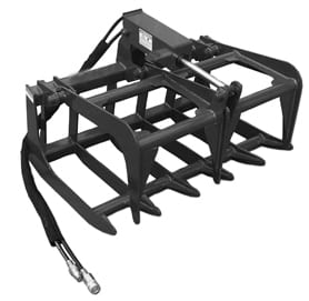 "Root Grapple, 44"" Skid Steer Attachments"
