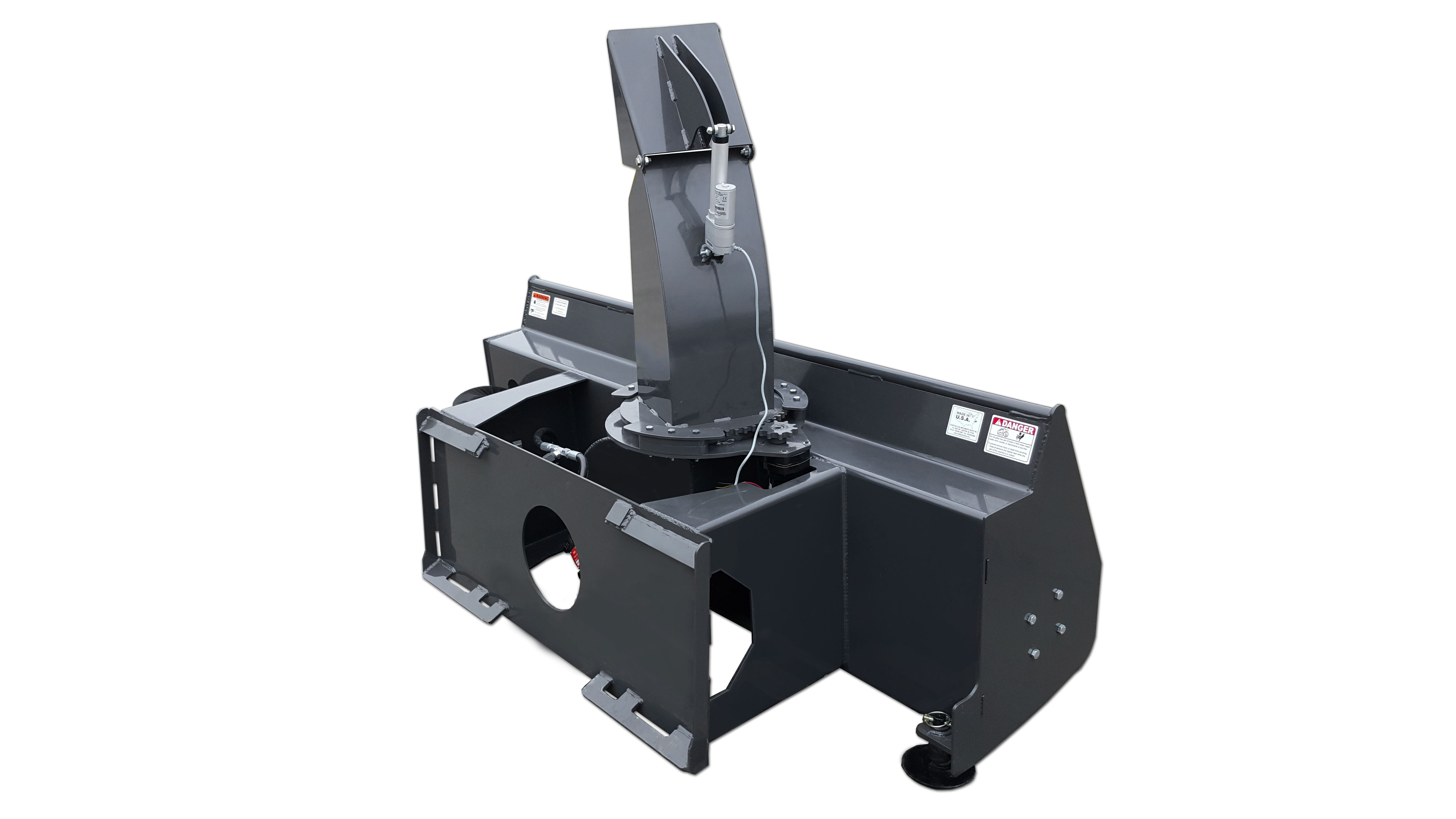 Extreme Snow Blower Skid Steer Attachments