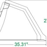 """Snow and Litter Bucket, 48"""" Skid Steer Attachments"""